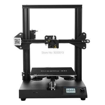 Più nuovo CR-20 3D Stampante Riprendere Stampa MK-10 Estrusore 220*220*250 millimetri V2.1 Aggiornamento con 200g filamento come un regalo Creality 3D