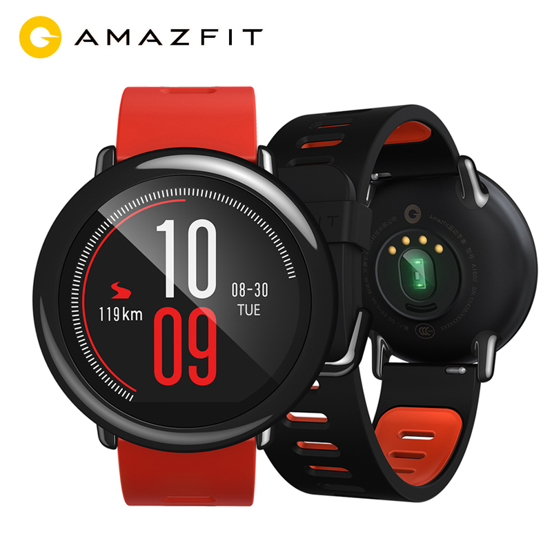English Version NEW Huami Amazfit Pace Smart Watch GPS Smartwatch Wearable Devices Smart Watch 1.2GHz 512MB/4GB for Xiaomi IOS