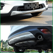 цена на For Mazda CX-5 CX5 2013 2014 2015 Front Rear Body Bumper Skid protection Fender Guard Bumper Cover Trim Car-styling Auto Parts