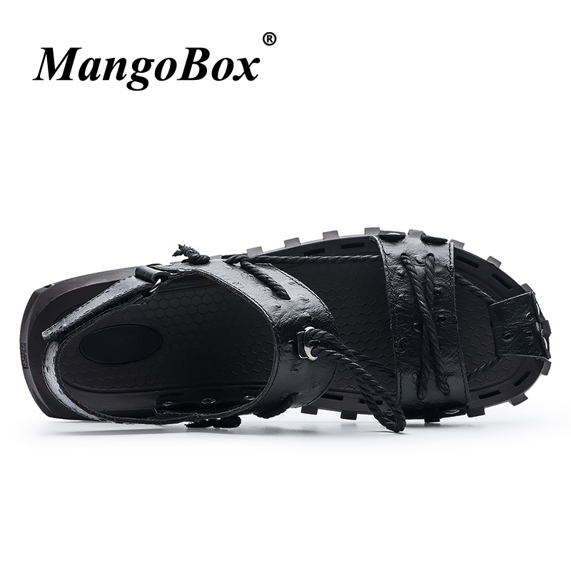 Stress Relief Toy Men Beach Sandals For Summer Red Black Outdoor Sports Sneakers Seaside Beach Surfing Man Shoes Anti-slip Male Walking Sandals Latest Fashion