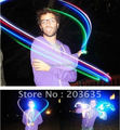 Envío de la gota! nuevos juguetes al por mayor LED de luz Láser dedo, anillos de LEDS, 100 unids/lote