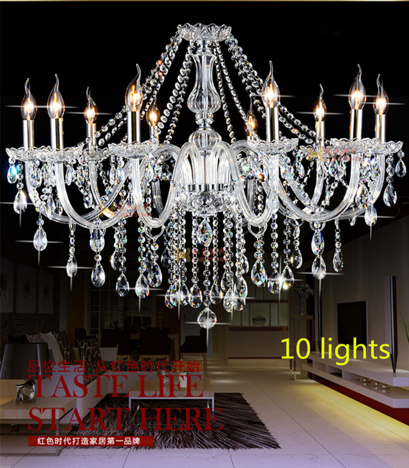 Aliexpress.com : Buy 10 Head Home Led Chandelier Deluxe