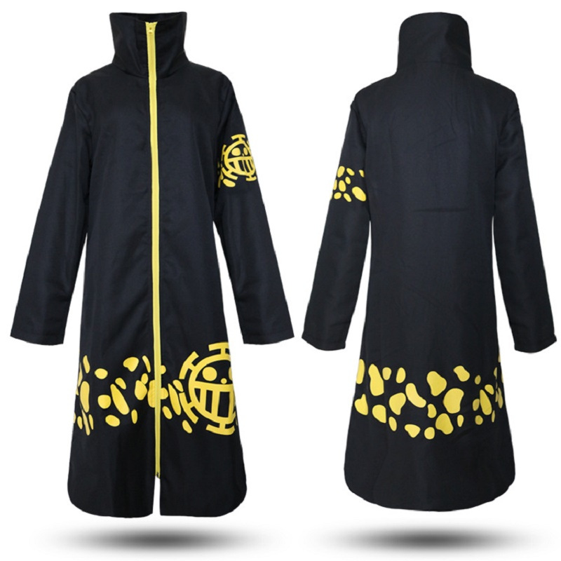 One Piece Cosplay Trafalgar Law Cloak Cape Cosplay Costume Accessories Hats Japanese Anime ONE PIECE Cosplay Costumes