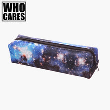 Galaxy Space 3D Printing Cosmetic Cases cosmetic bag Fashion pencil bag organizer pouch 2016 New neceser