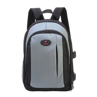 3Colors Out Door Waterproof Backpack Camera Bag Large Size For Canon Nikon SLR Cameras With Raincover