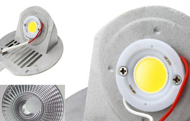 Besplatna dostava 30W okrugla COB osvijetljena svjetlost sa - Unutarnja rasvjeta - Foto 5