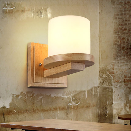 Nordic Wall Lamp Living Room Indoor Wall Light Bedroom Bedside Wall Creative Wood Wall Sconces For Home Art Deco Lighting art deco led wall lamps bedside dinning room wall sconces indoor bar light hallway wall lighting fixtures modern pin wall light