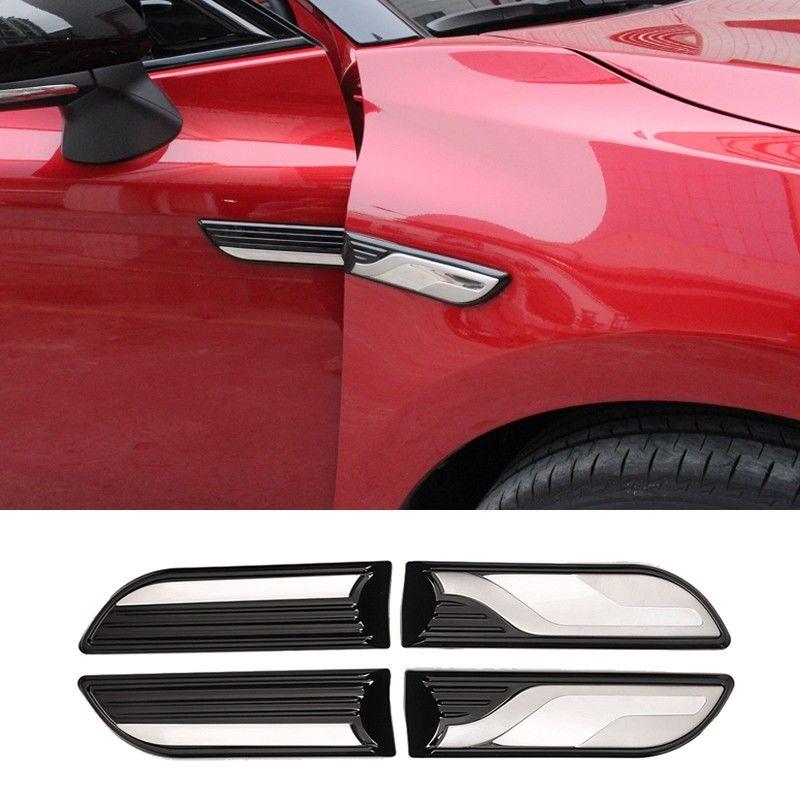 4 pièces corps côté garde-boue décoratif autocollant apparence pour 2018 Toyota Camry accessoires extérieurs voiture autocollants nouvelle mode