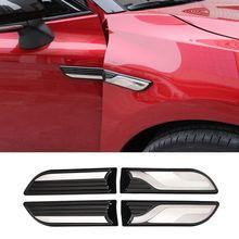4 шт.. кузов боковой крыло декоративная наклейка внешний вид для 2018 Toyota Camry внешние аксессуары автомобиля Наклейка s Новая мода