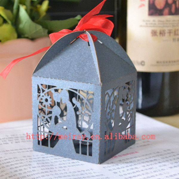 Indian Wedding Favor Bo Red Black Groom And Bride Box In Gift Bags Wring Supplies From Home Garden On