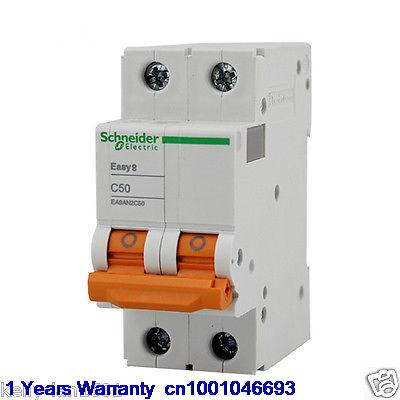 DHL/EUB 10pcs NEW Original for Schneider EA9AN2C50 Breaker   15-18DHL/EUB 10pcs NEW Original for Schneider EA9AN2C50 Breaker   15-18