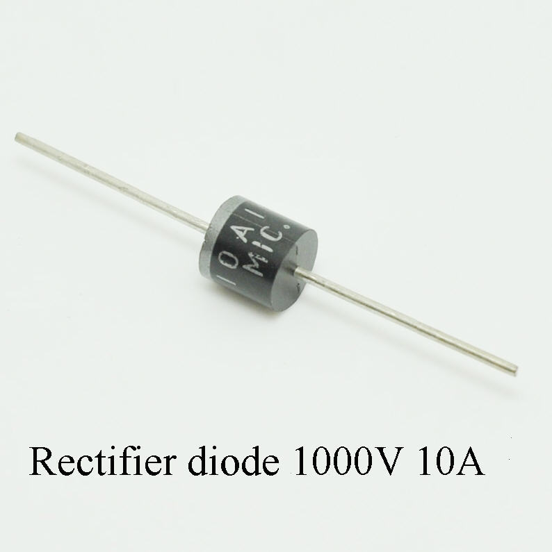 20x 10A10 10Amp 1000V 10A 1KV R-6 MIC General Purpose Axial Rectifier Diodes JR