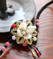 2019 Korea Hanbok Hair hoop stage performance hairbands women elegant traditional accessories Korean hair ornaments