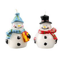 Nicole Silicone Candle Molds 3D Snowman Handmade Christmas Soap Mould