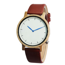 Hot Japan MIYOTA Movement Maple Wooden Watch For Men and Women With Genuine Leather Strap Best Gift For Friend Drop Shipping