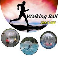Inflatable Water Walking Ball 2M 1.5M Walk on Water Walking Ball Roll Ball Inflatable German Zipper PVC