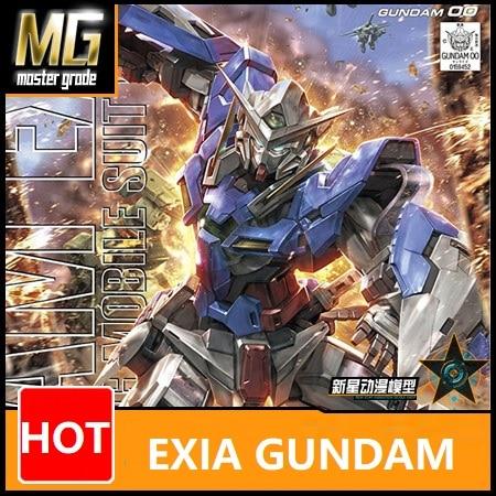 Japaness Original Gundam MG 1/100 Model  EXIA Gundam 00 Mobile Suit Kids Toys With Holder