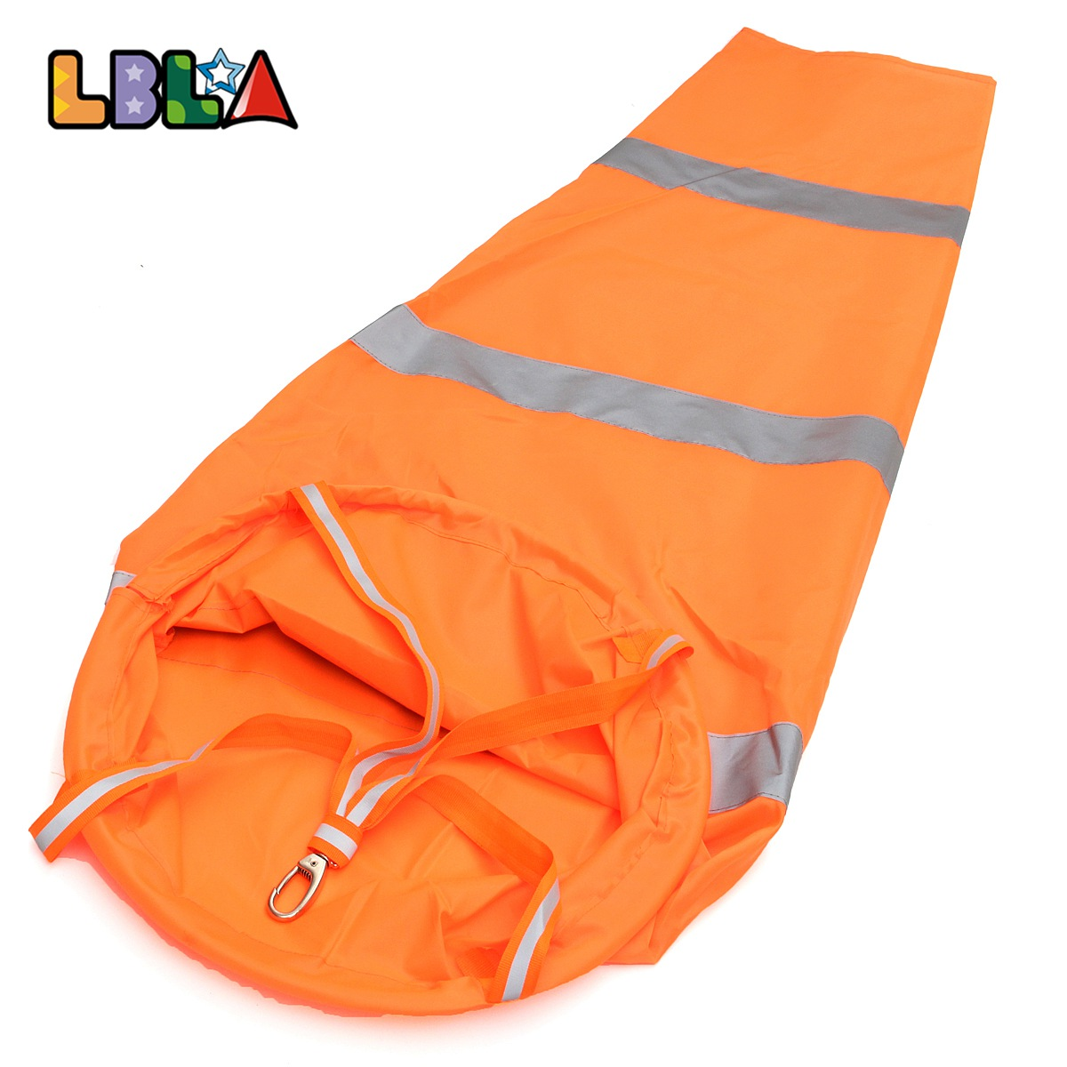 LBLA 1 pcs Aviation Windsock Rip-stop Wind Measurement Sock Bag Reflective Belt Wind Monitoring Outdoor Toy Indicator 100cm enhanced windsock wind vane double frame skeleton