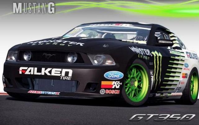 1 10 rc drift body car decals stickers mgt350 gt fford mustang