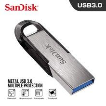 USB3.0 диск подлинная SanDisk USB флеш-накопитель ультра чутье флешка реальная емкость 128 гб 64 гб 32 гб 16 гб memoria stick