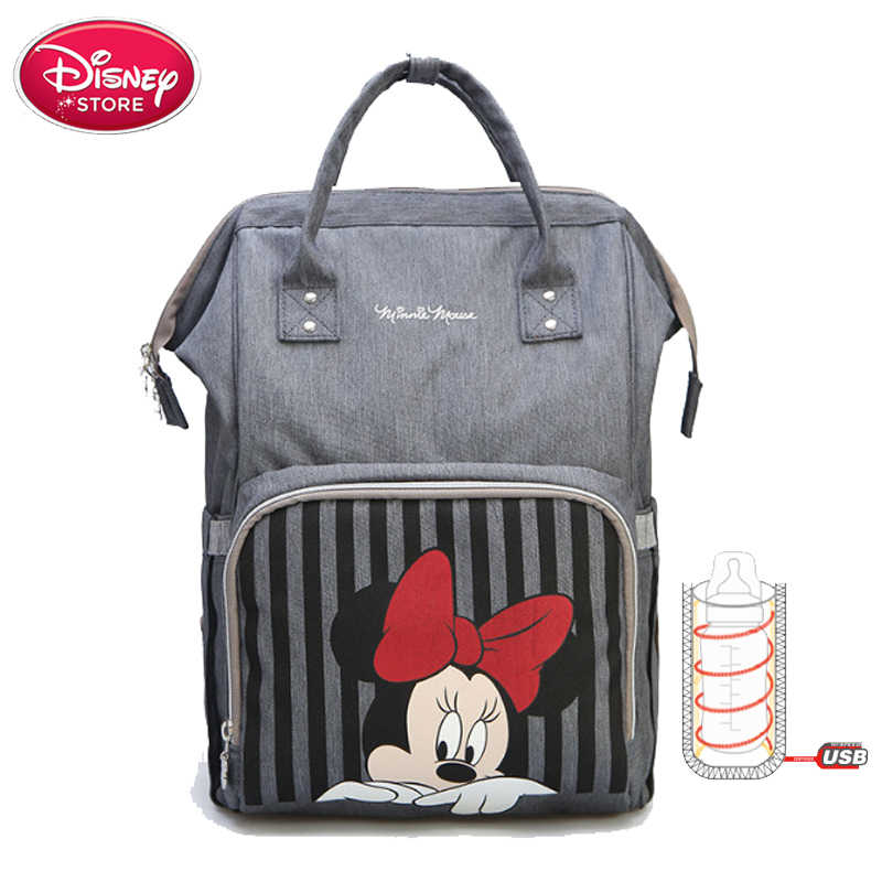 b652ff4a1db ... Disney Mummy Diaper Bag Mickey Mouse Backpack Maternity Nappy Bag Baby  Travel Baby Bags for Mom