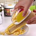 2016 New Design 1 PCS Criativo Transparente Visual Ferramenta Milho Debulhador de Milho para a Cozinha Cozinhar Portátil Plaina TS-9688 Utensílio