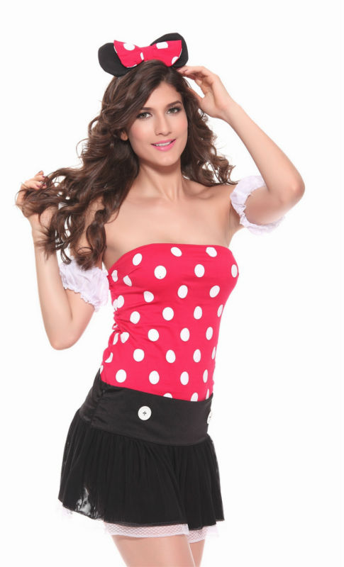 Free Shipping Halloween Costume Sexy Lady Bunny Costume