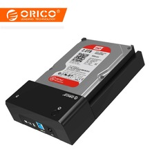 ORICO USB3 0 to SATA External Hard Disk Drive Enclosure HDD SSD Docking Station Support 8TB