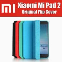 En stock MiPad 2 tipo de metal c win10 tablet pc inteligente caso de cuero 100{e3d350071c40193912450e1a13ff03f7642a6c64c69061e3737cf155110b056f} de la marca original para xiaomi mi pad 2 flip cubierta