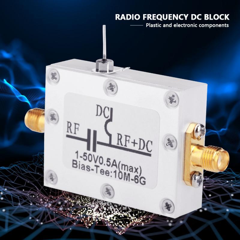 Koaxial Bias T 10 Mhz-6 Ghz Bias T 10 Mhz-6 Ghz Breitband Radio Frequenz Mikrowelle Koaxial Bias