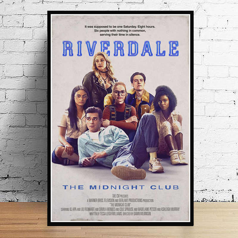 Hot Riverdale Season 2 3 TV Series Show Pop Movie Anime Poster And Prints Art Painting Wall Pictures For Living Room Home Decor