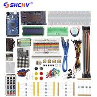 Super MEGA Starter Kit For Arduino LCD LED Sensor Servo Motor Sensor Module With MEGA 2560