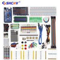 Super MEGA Starter Kit For Arduino LCD LED Sensor Servo Motor Sensor Module With MEGA 2560
