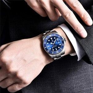 Image 5 - パガーニデザインブランドメンズ腕時計高級自動腕時計メンズステンレススチール防水ビジネス機械式時計リロイ hombre