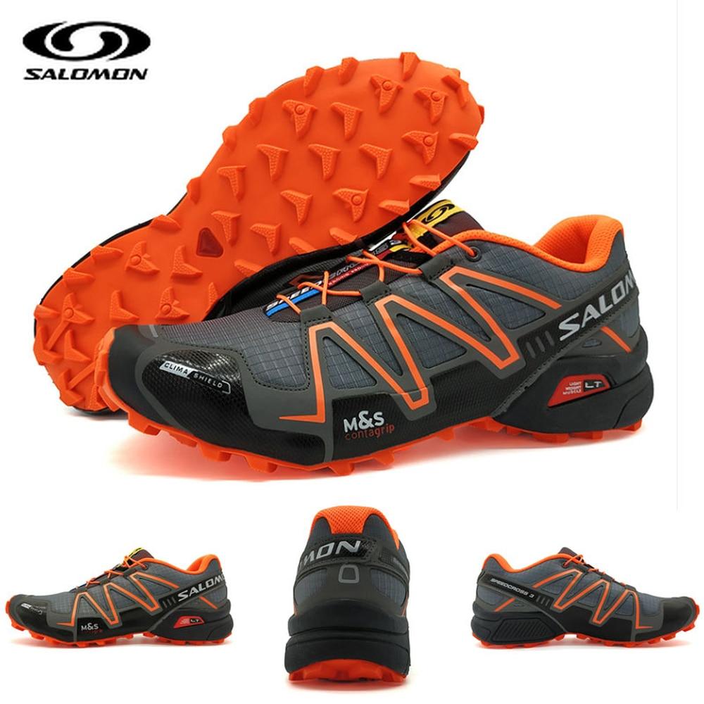 Pens, Pencils & Writing Supplies Glorious Salomon Speed Cross 3 Cs Iii Anti-slip Men Sports Shoes Light Weight Male Running Shoes Black Orange High Quality Convenience Goods