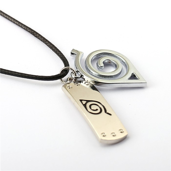 NARUTO Leaf Village Konoha Logo Choker Necklace