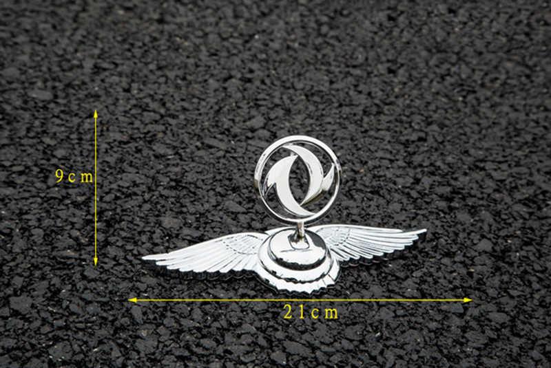 Emblema della lega di per Dongfeng Fengshen AX7 Croce Ax4 Fengxing 580 S30 H30 Cofano Del Veicolo Sticker Argento Distintivo Auto Decorazione Esterna