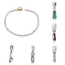 Fit  charms plata de ley 925 original bracelet jewelry valentine's day mary poppins bijoux sieraden oorbellen beads jewellery цена