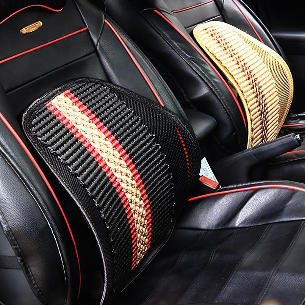 Car Backrest Support Mesh Lumbar Support Lumbar Massage