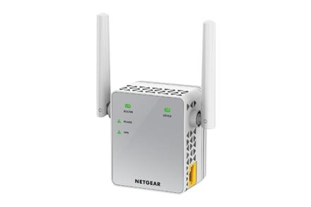 Netgear EX3700-100PES 100 Mbit/s 10/100Base-T (X) IEEE 802.11ac... IEEE 802.11b IEEE 802,11g IEEE 802.11n IEEE 802,3 IEEE 802.3u...