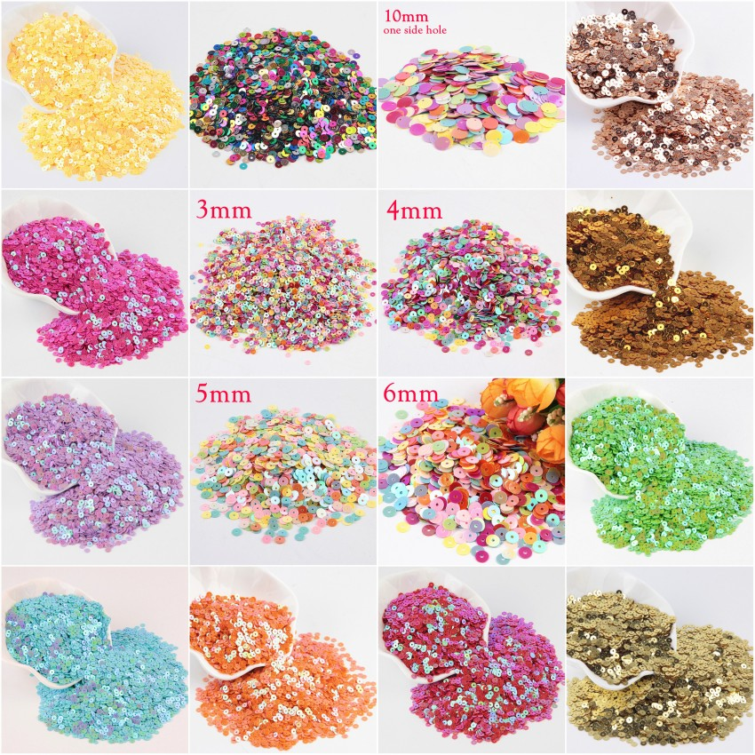 6e42b1e397 🛒 wholesale 50mm flower sequins for craft and decoration, hologram ...