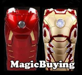 3D Cool Hero Avengers Iron Man Ironman Armor Led iphone 6 5s 5 Flash Light case mk42 Cover Cases Apple iPhone 5G 5S - MagicBuying store