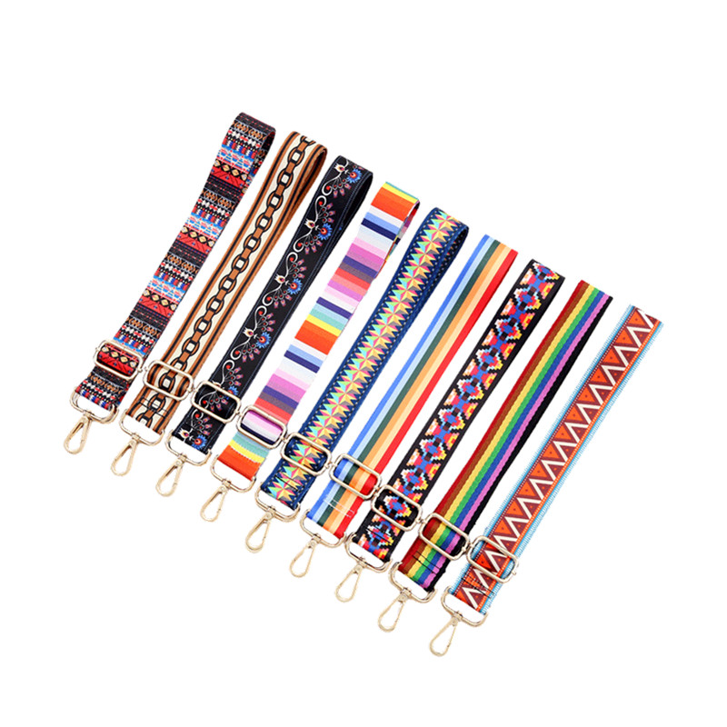 YISHEN Adjustable Bag Strap Colorful Belt Accessories For Women