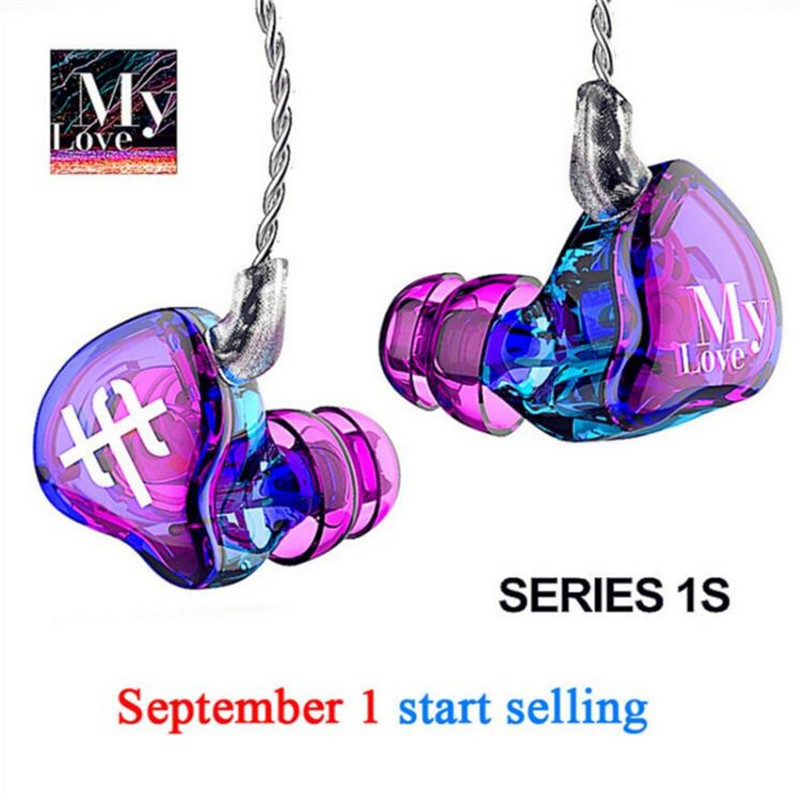 TFZ SERIES 1S My Love Fireworks Earphone In Ear Monitor Professional Headset Silver Plated Special Custom Edition Earphones