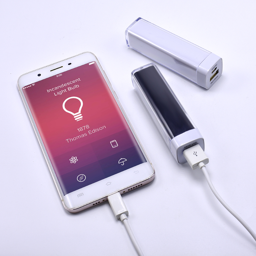 2018 Luxury paris 4000mAh Lipstic shape <font><b>Power</b></font> <font><b>Bank</b></font> Battery Smart Portable Mini Charger for iPhone 6 6S 7 Plus 5 5S iPod image