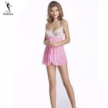 Chemises de nuit Déshabillé Demoiselle D'honneur Robe pyjama femme vêtements de Nuit Sexy Lingerie robe de chambre robe de nuit