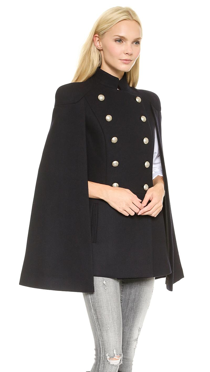 Popular Military Cape Coat-Buy Cheap Military Cape Coat lots from ...