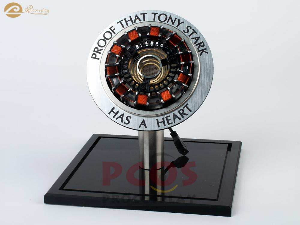 Avengers:Endgame proof that Tony Stark has a heart iron man MK2 arc Reactor Prop