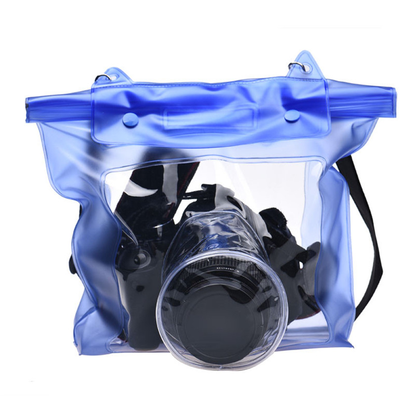 Best Price Waterproof Digital Camera DSLR Case Underwater Pouch Bag For Canon For Sony