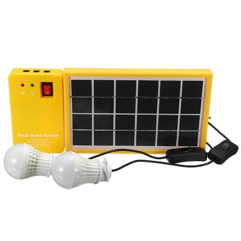 energia solar painel gerador kit com 3
